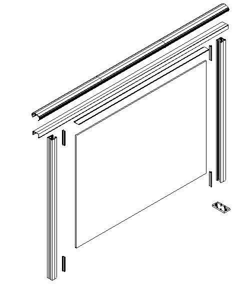 Building Aluminium Bar Design 4