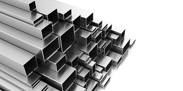 Building Aluminium Square Box